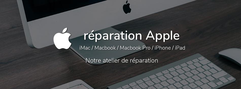 Réparation produit Apple